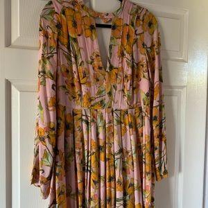 Free people pleated dress